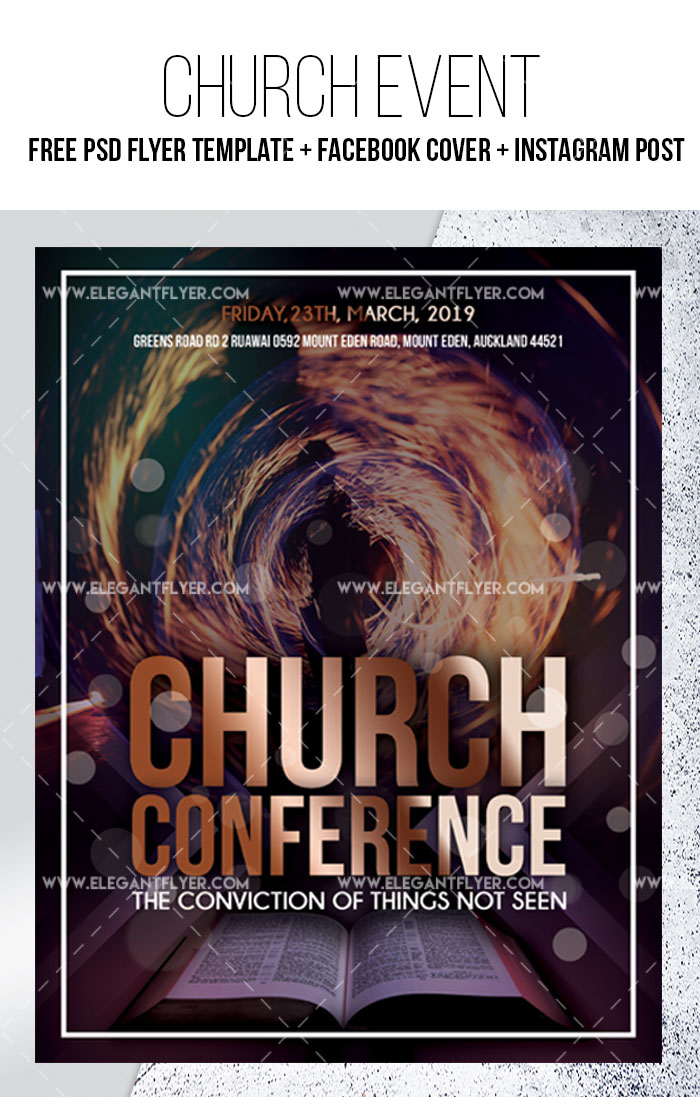 34+ Free PSD Church Flyer Templates in PSD for Special