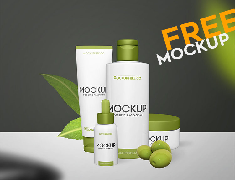 62 Free PSD Beauty & Cosmetics PSD Mockups for designers and