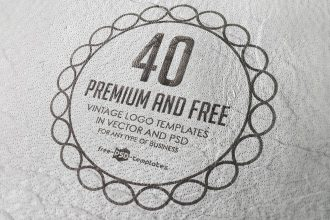 40 Premium and Free Vintage Logo Templates in Vector and PSD for Any Type of Business