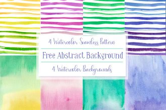 Free Abstract Watercolor Background