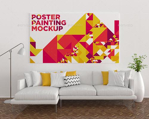 35 Premium And Free Interior Mockups In Psd For Interior Designers