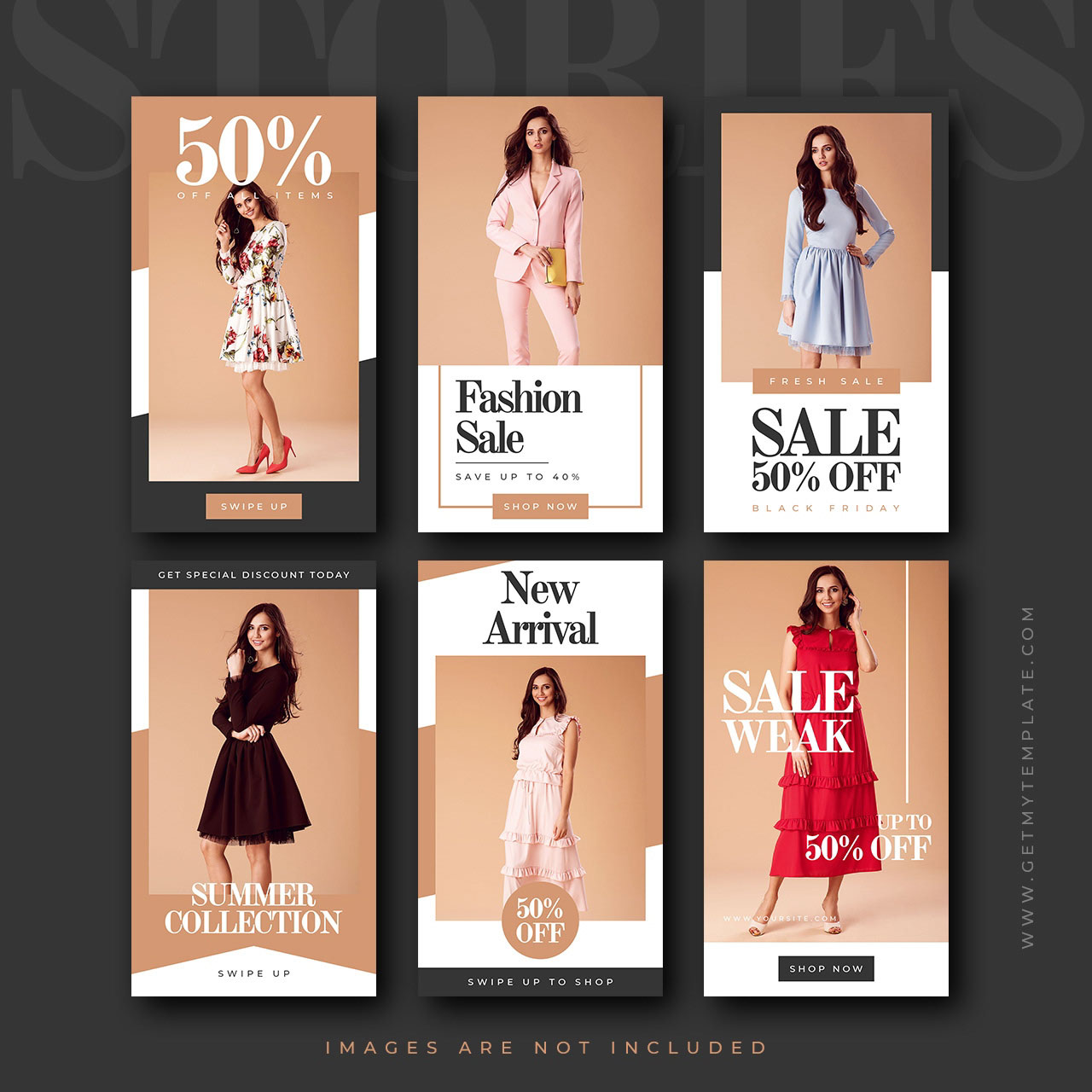 74 Free Psd Instagram Fashion Templates To Be Stylish And Premium Version Free Psd Templates