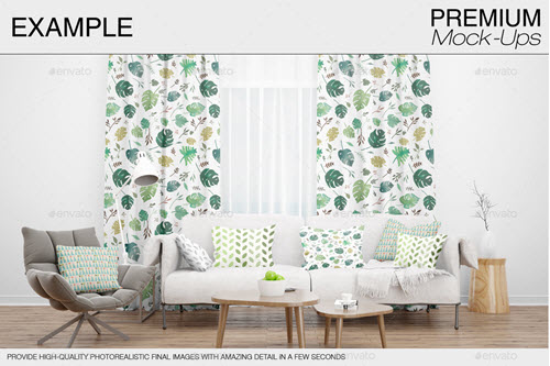 35 Premium And Free Interior Mockups In Psd For Interior