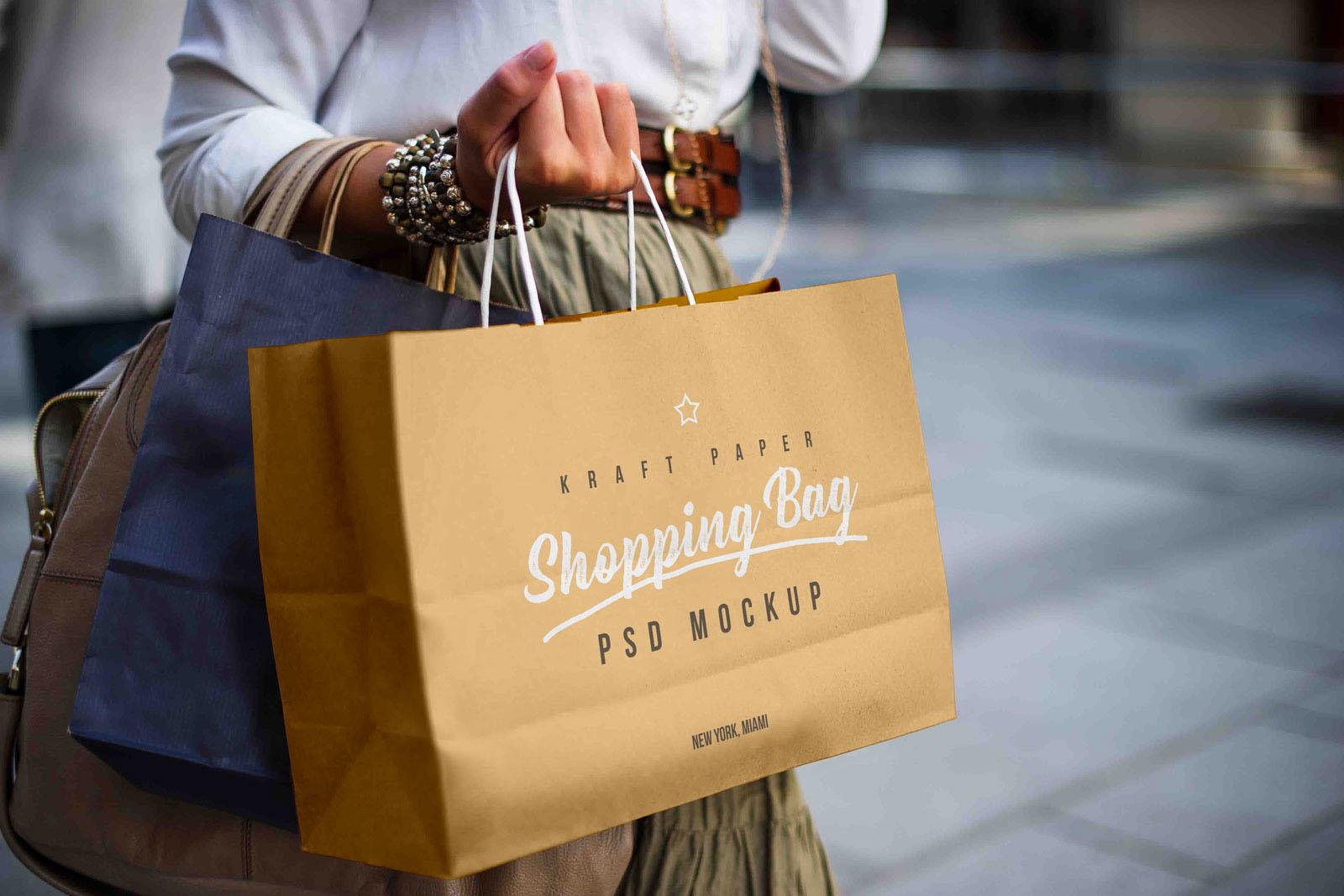 65 Free Professional Shopping Bag Mockups And Premium Version Free Psd Templates
