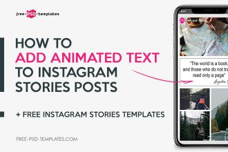 How to Add Animated Text to Instagram Stories Posts + Free Instagram Stories Templates