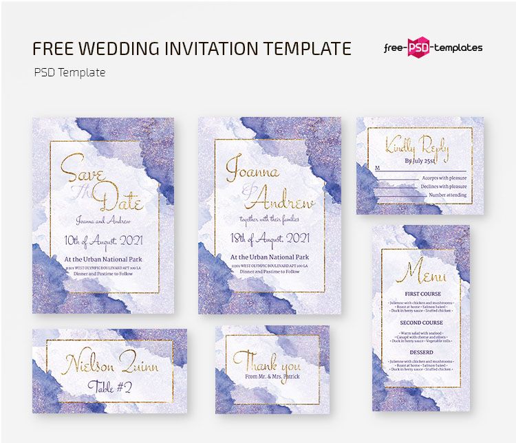 78 Must Have Free Wedding Templates For Designers Premium Version Free Psd Templates