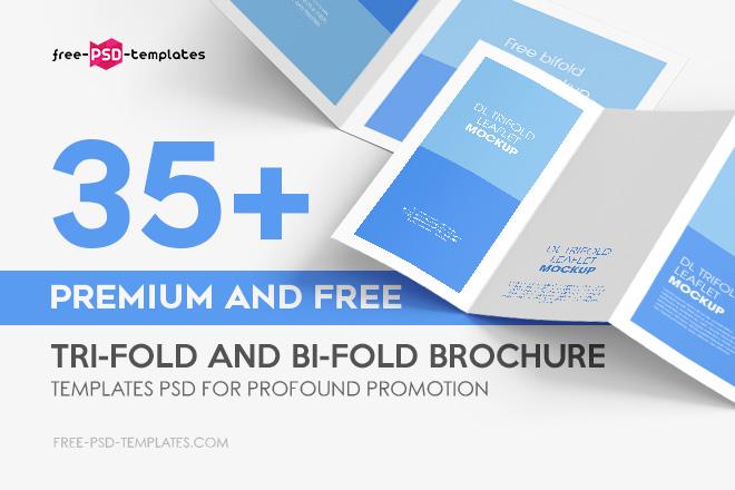 Bi-Fold Brochure Template Free from free-psd-templates.com