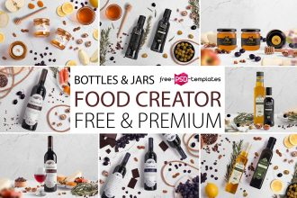 Free Food Scene Creator + Premium Version