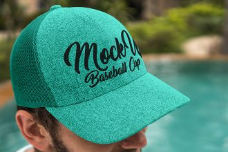 Free Baseball Cap V02 Mock-up in PSD