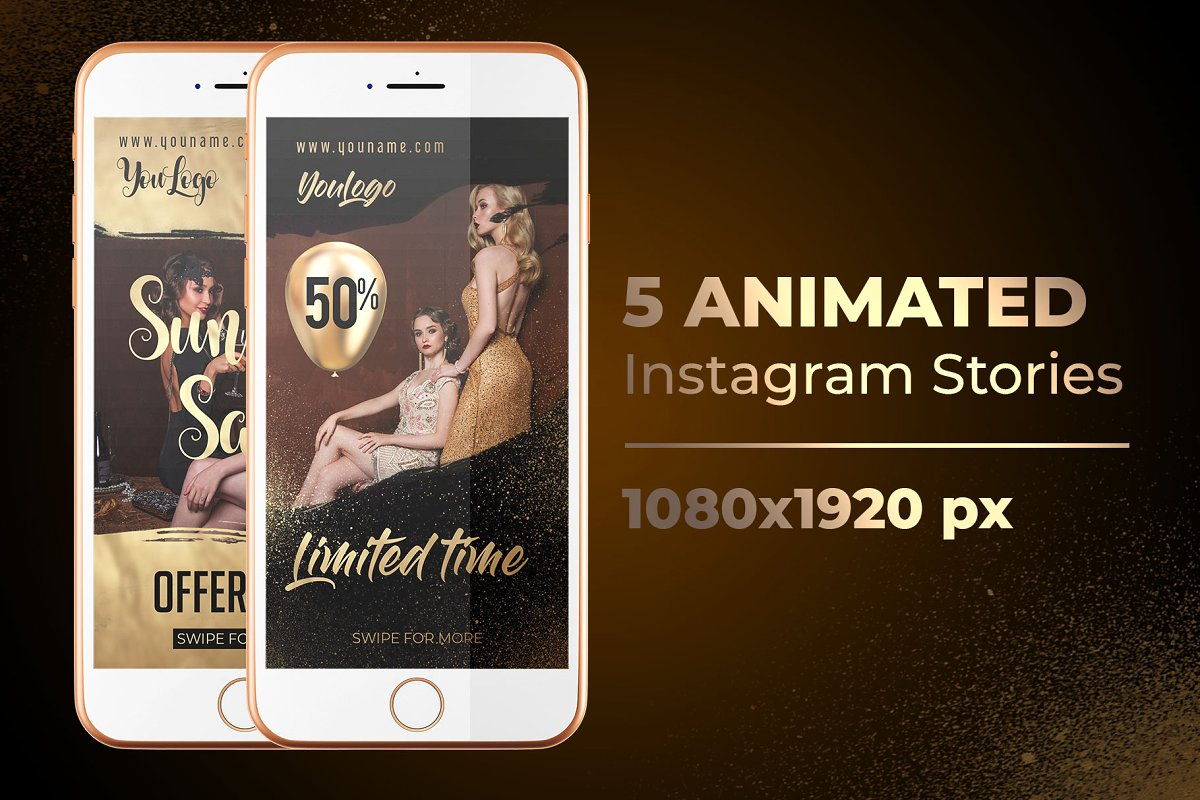 66+PREMIUM & FREE PSD INSTAGRAM FASHION TEMPLATES TO BE