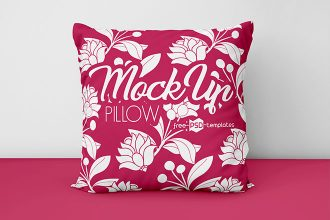 2 Free Pillows Mockups