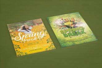 Top 35 Premium & Free Spring Break PSD Templates for Event Promotion