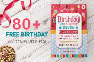 80+ FREE BIRTHDAY INVITE TEMPLATES IN PSD + Premium Invites!