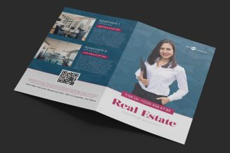 Free Real Estate Bi-Fold Brochure in PSD