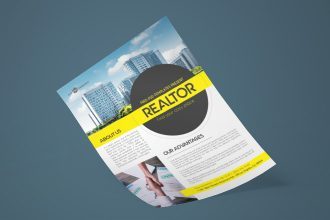 Free Realtor Flyer in PSD