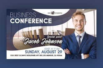 Free Business Conference Facebook Event Page