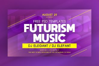 Free Futurism Music Facebook Event Page