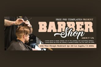 Free Hairdresser Facebook Cover