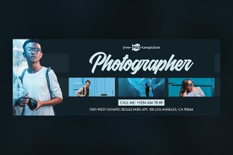Free Photographer Facebook Cover