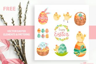 Free Vector Easter Elements & Patterns