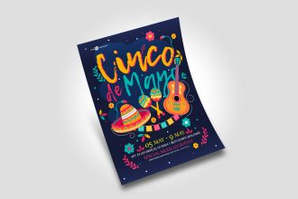 Free Cinco De Mayo Flyer in PSD