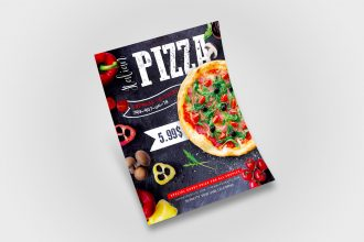 Free Pizza Flyer in PSD