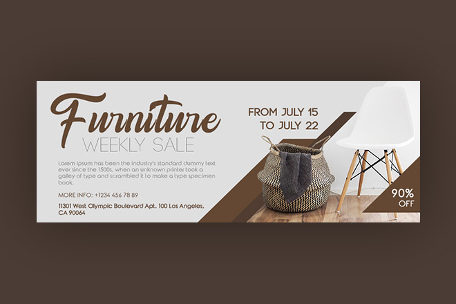 Free Furniture Facebook Cover Free Psd Templates