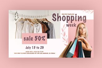 Free Shopping Week Facebook Event Page