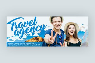 Free Travel Agency Facebook Cover