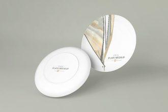 4 Free Plate Mockups