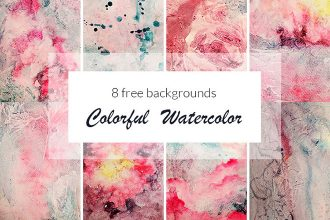 Free Colorful Watercolor Background