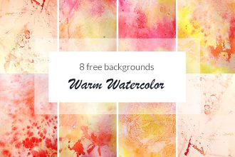 Free Warm Watercolor Background