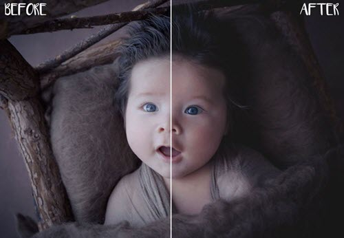 35 Premium and Free Photoshop Actions for Portrait Photos