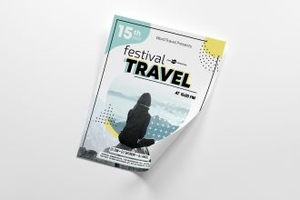 Free Travel Flyer in PSD