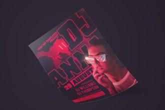 Free Guest DJ Flyer in PSD
