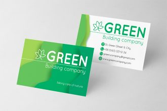Free Eco Company Business Card