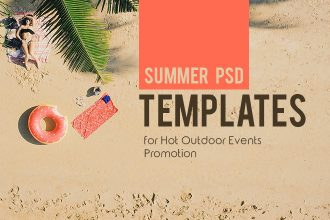30 Premium & Free Summer PSD Templates for Hot Outdoor Events Promotion