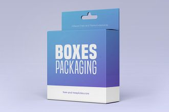 2 Free Boxes Packaging Mock-ups in PSD