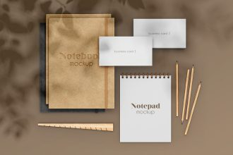 3 Free Stationary Scene Mock-ups in PSD