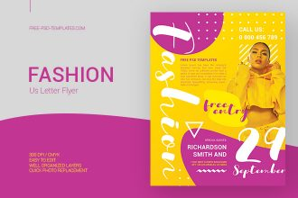 Free Fashion Flyer in PSD