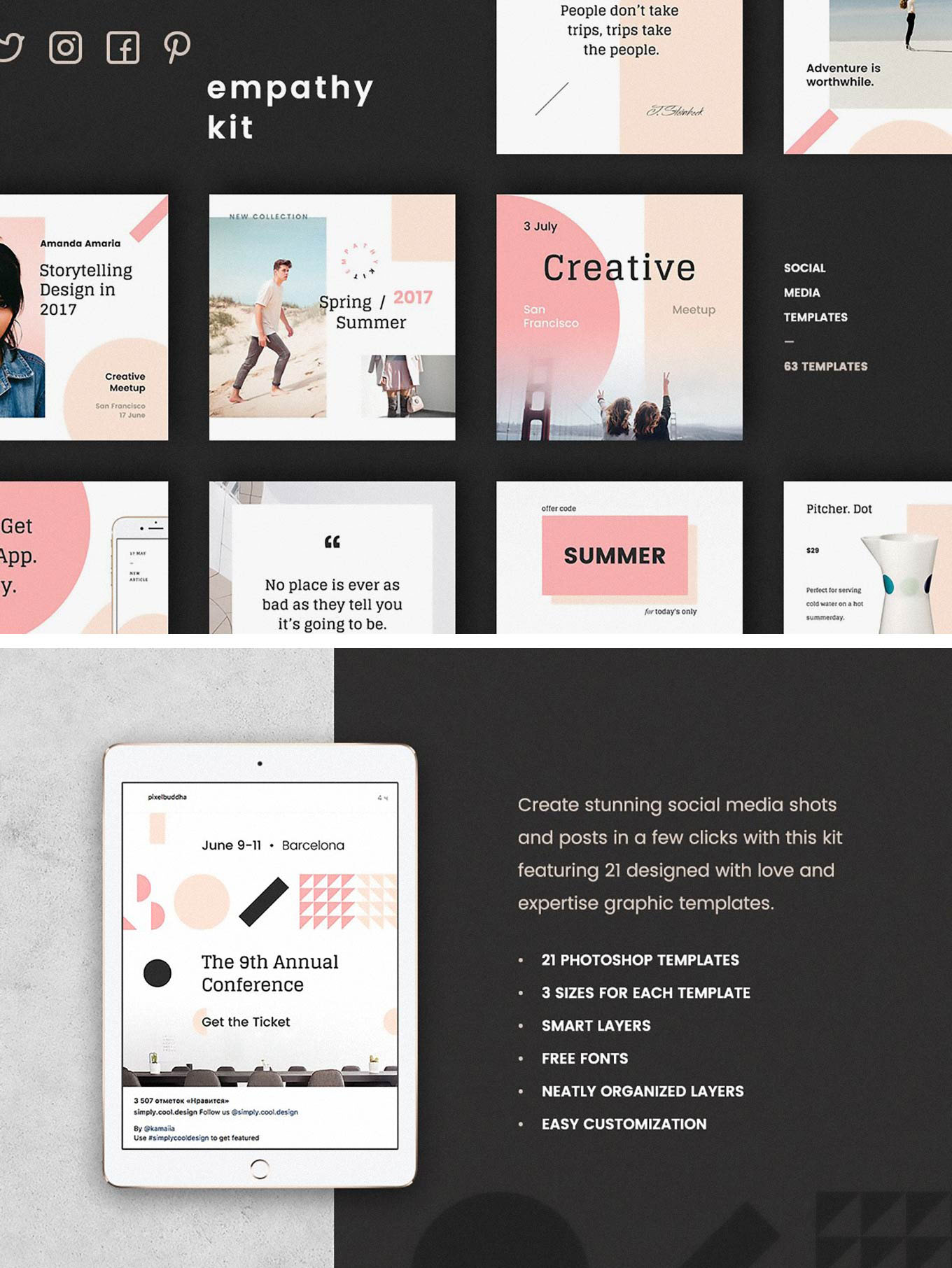 48 Free Social Media Design Templates For Instagram Stories Post And Banners Free Psd Templates