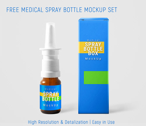 35 Free Medicine And Cosmetic Packaging Psd Mockups Free Psd