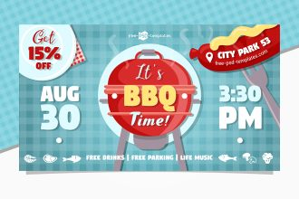 Free BBQ Facebook Event Page Template
