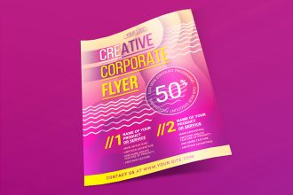 Free Creative Corporate Flyer Template