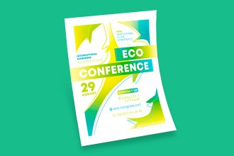 Free Eco Conference Flyer Template
