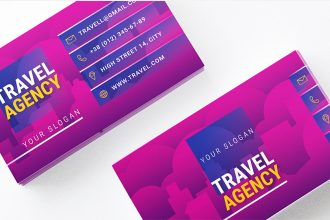 Free Travel Agency Business Card