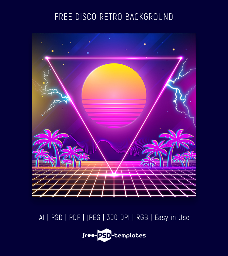 Free Disco Retro Background Free Psd Templates Find the large collection of 11000+ vintage background images on pngtree. free disco retro background free psd
