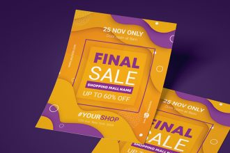 Free Final Sale Flyer Template in PSD