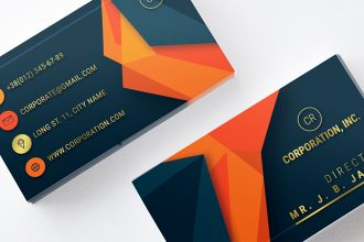 Free Corporation Business Card