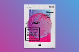 Free Sale Weekend Flyer Template